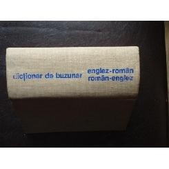 DICTIONAR DE BUZUNAR ENGLEZ ROMAN , ROMAN ENGLEZ