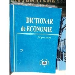 DICTIONAR DE ECONOMIE , DR. MIHAI MILCA