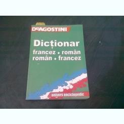 DICTIONAR FRANCEZ ROMAN, ROMAN FRANCEZ - DE AGOSTINI