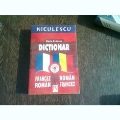 DICTIONAR FRANCEZ ROMAN, ROMAN FRANCEZ - MARIA BRAESCU
