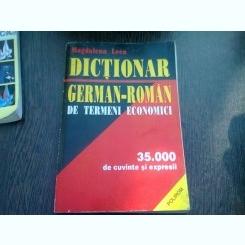 DICTIONAR GERMAN-ROMAN DE TERMENI ECONOMICI - MAGDALENA LECA