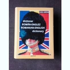DICTIONAR ROMAN-ENGLEZ, ROMANIAN-ENGLISH DICTIONARY - LEON LEVITCHI