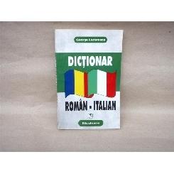 Dictionar Roman - Italian , George Lazarescu , 1997