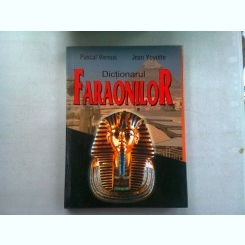 DICTIONARUL FARAONILOR - PASCAL VERNUS