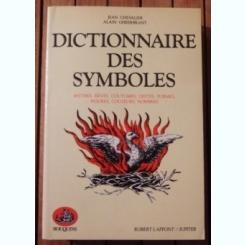 DICTIONNAIRE DES SYMBOLES - JEAN CHEVALIER  (CARTE IN LIMBA FRANCEZA)