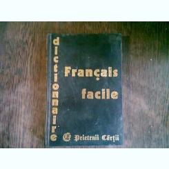 DICTIONNAIRE DU FRANCAIS FACILE   (DICTIONAR FACIL DE LIMBA FRANCEZA)