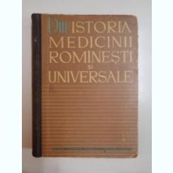 DIN ISTORIA MEDICINII ROMANESTI SI UNIVERSALE de V. L. BOLOGA, 1962
