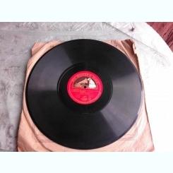 DISC DE GRAMOFON, HIS MASTER'S VOICE,  MINUETTO 1 SI 2 BACH, THE LITTLE WINDMILL COUPERIN