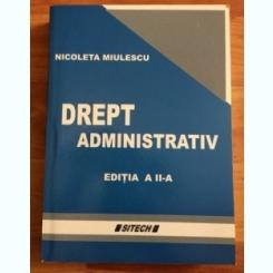 DREPT ADMINISTRATIV-NICOLETA MIULESCU