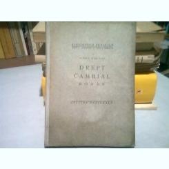 DREPT CAMBIAL ROMAN - MIHAIL PASCANU