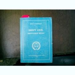 Drept civil Drepturile reale - Ioan P. Romosan