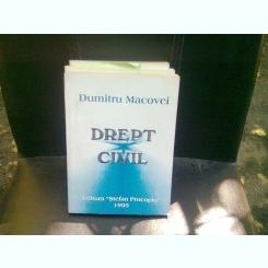 DREPT CIVIL - DUMITRU MACOVEI