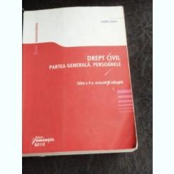 DREPT CIVIL. PARTEA GENERALA. PERSOANELE - GABRIEL BOROI