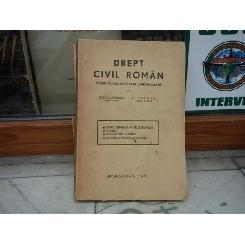 Drept civil roman studiu de doctrina si jurisprudenta volumul 2 , Rosetti Balanescu , 1943
