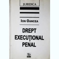 DREPT EXECUTIONAL PENAL, ION OANCEA