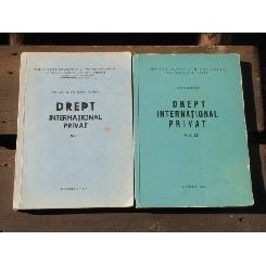 DREPT INTERNATIONAL PRIVAT - ION P. FILIPESCU 2 VOLUME