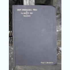 DREPT INTERNATIONAL PUBLIC SI FALIMENTE 1902. REZUMATE