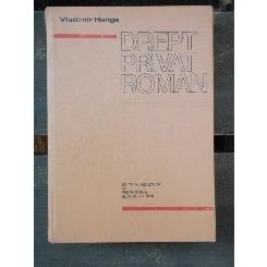 DREPT PRIVAT ROMAN - VLADIMIR HANGA