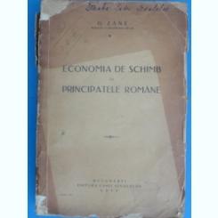 ECONOMIA DE SCHIMB IN PRINCIPATELE ROMANE-G.ZANE