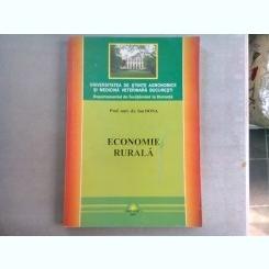 ECONOMIE RURALA - ION DONA (CURS INVATAMANT LA DISTANTA)