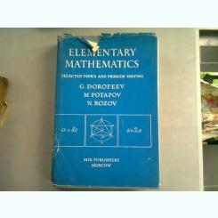 ELEMENTARY MATHEMATICS - G. DOROFEEV