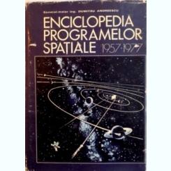 ENCICLOPEDIA PROGRAMELOR SPATIALE (1957-1977) DE DUMITRU ANDREESCU, 1979