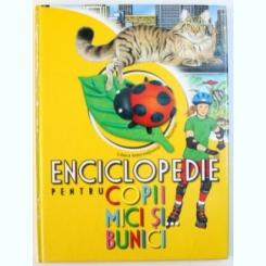 ENCICLOPEDIE PENTRU COPII MICI SI BUNICI , TRADUCERE SI ADAPTARE DE ANATOL VIDRASCU , 2007