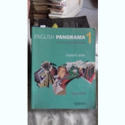 ENGLISH PANORAMA 1 - FELICITY O'DELL (MANUAL PENTRU STUDENTII AVANSATI)