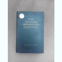 English pronouncing dictionary - Daniel Jomnes, 1958