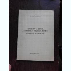 EPISTOLA A DOUA A SFANTULUI APOSTOL PETRU - IOAN A. MIRCEA  (CU DEDICATIE)