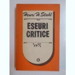 ESEURI CRITICE DE HENRI H. STAHL , 1983
