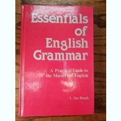 ESSENTIALS OF ENGLISH GRAMMAR - L. SUE BAUGH