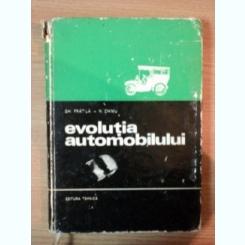 EVOLUTIA AUTOMOBILULUI DE GHEORGHE FRATILA , NICOLAE CHIMU , 1971