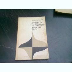 EVOLUTIA SI FORMELE GENULUI LIRIC - EDGAR PAPU