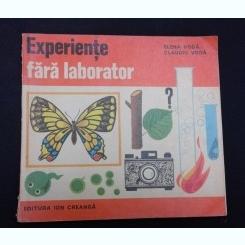 EXPERIENTE FARA LABORATOR - ELENA VODA