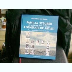 FAMILIA STEURER 4 GENERATII DE ARTISTI - ALEXANDRINA ISAC STEURER