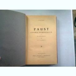 FAUST OPERA COMPLECTA - GOETHE