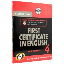 FIRST CERTIFICATE IN ENGLISH 4, WITH ANSWERS  (CONTINE 2 CD-URI AUDIO)