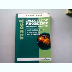 FIZICA CULEGERE DE PROBLEME PROPUSE SI REZOLVATE PENTRU CLASA A IX-A SI CACALAUREAT - MIHAELA CHIRITA