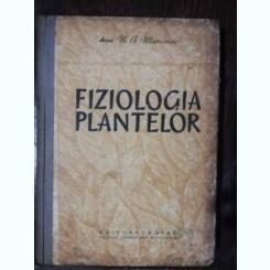 FIZIOLOGIA PLANTELOR - N.A. MAXIMOV