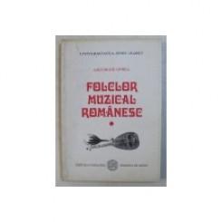 FOLCLOR MUZICAL ROMANESC - GHEORGHE OPREA  VOL.1