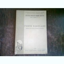 FONTE NODULARE  (TRADUCERI DIN LITERATURA SOVIETICA DE SPECIALITATE)