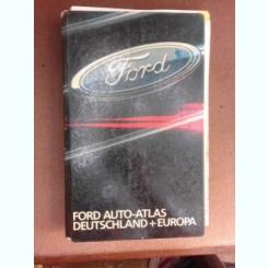 Ford auto, atlas Germania si Europa