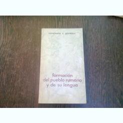 FORMACION DEL PUEBLO RUMANO Y DE SU LENGUA - CONSTANTIN C. GIURESCU