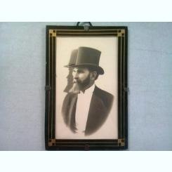 FOTOGRAFIE ANII 1900, INRAMATA