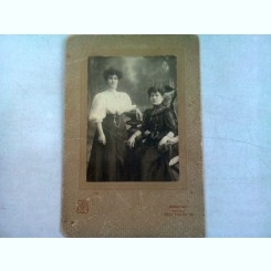 FOTOGRAFIE ANII 1900, REALIZATA ATELIER DE PRIMUL RANG