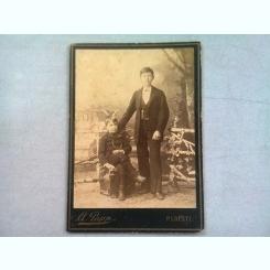 FOTOGRAFIE ANII 1900, REALIZATA DE ALBERT PAPP - PLOIESTI