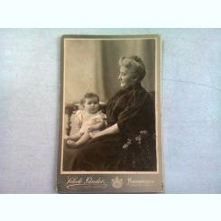 FOTOGRAFIE ANII 1900, REALIZATA DE FEKETE SANDOR - NAGYVARAD
