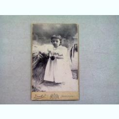 FOTOGRAFIE ANII 1900 REALIZATA IN UNGARIA DE ZSUNK P.