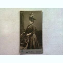 FOTOGRAFIE ANII 1900 REALIZATA LA STUDIO FOTO DIN BUDAPESTA
